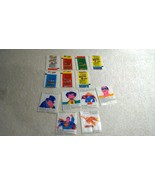 1982 Leaf Bubble Gum Super Heros 7x Wrappers & 6x Tattoo Sheets Foreign ... - $62.88