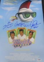 Charlie SHEEN, Tom BERENGER & Corbin BERNSEN Signed 'Major League' 11 x ... - $276.21