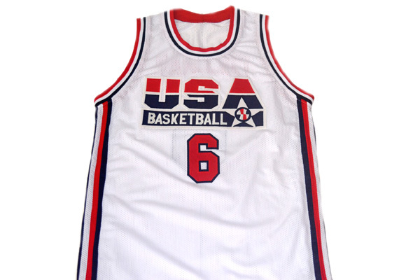 Derrick Coleman #6 Team USA Men Basketball Jersey White Any Size