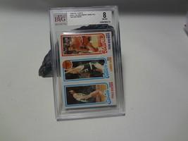 1980-81 Topps Junior Bridgeman Ron Brewer Larry Bird Rookie RC BVG 8 NM-MT - $19.71