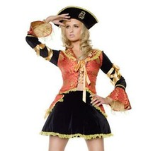 Maiden Voyage Deluxe Adult Costume Size Small 2-4 Halloween Party 3 Piec... - $36.58