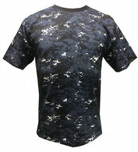 Genuine ALL SIZES Russian Police Spetsnaz OMON T Shirt Blue Camouflage U... - $32.41