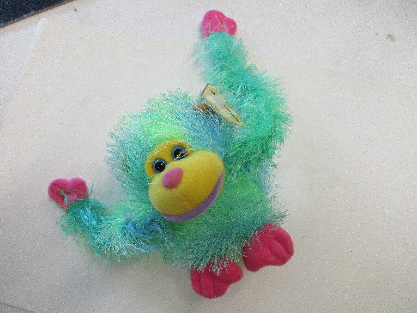 Primary image for Green monkey stuffed animal aurora