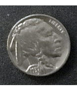 1937 Buffalo and Indian Head Nickel, Xtra Fine Condition, looks Mint, - $18.00