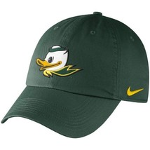 "Nike Oregon Ducks Mascot Heritage 86 Adjustable Green Hat ""Free Shipping... - £18.33 GBP"
