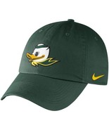 "Nike Oregon Ducks Mascot Heritage 86 Adjustable Green Hat ""Free Shipping... - £18.93 GBP"