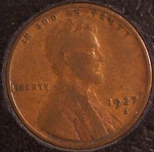 1927-S Lincoln Wheat Back Penny F12 #869 image 4