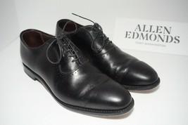 Allen Edmonds Vernon Men's Dress Oxfords Lace up Black Leather Size US 8.5 D - $231.66