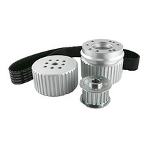 A-Team Performance Gilmer Style Pulley Kit Compatible with Ford BB Big Block BBF