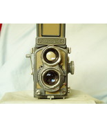 YASHICA-44 TLR Camera With Yashikor 60mm f/3.5 Lenses -GREY BABY- WORKING- - $80.00