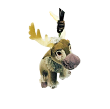 Ty Beanie Babies Baby Sven Moose Plush Sparkle Keychain Stuffed Toy Coll... - $6.92