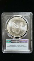2020 (P) Silver Eagle PCGS MS 69 FS Emergency Issue White Spots Actual Coin 8102 image 3