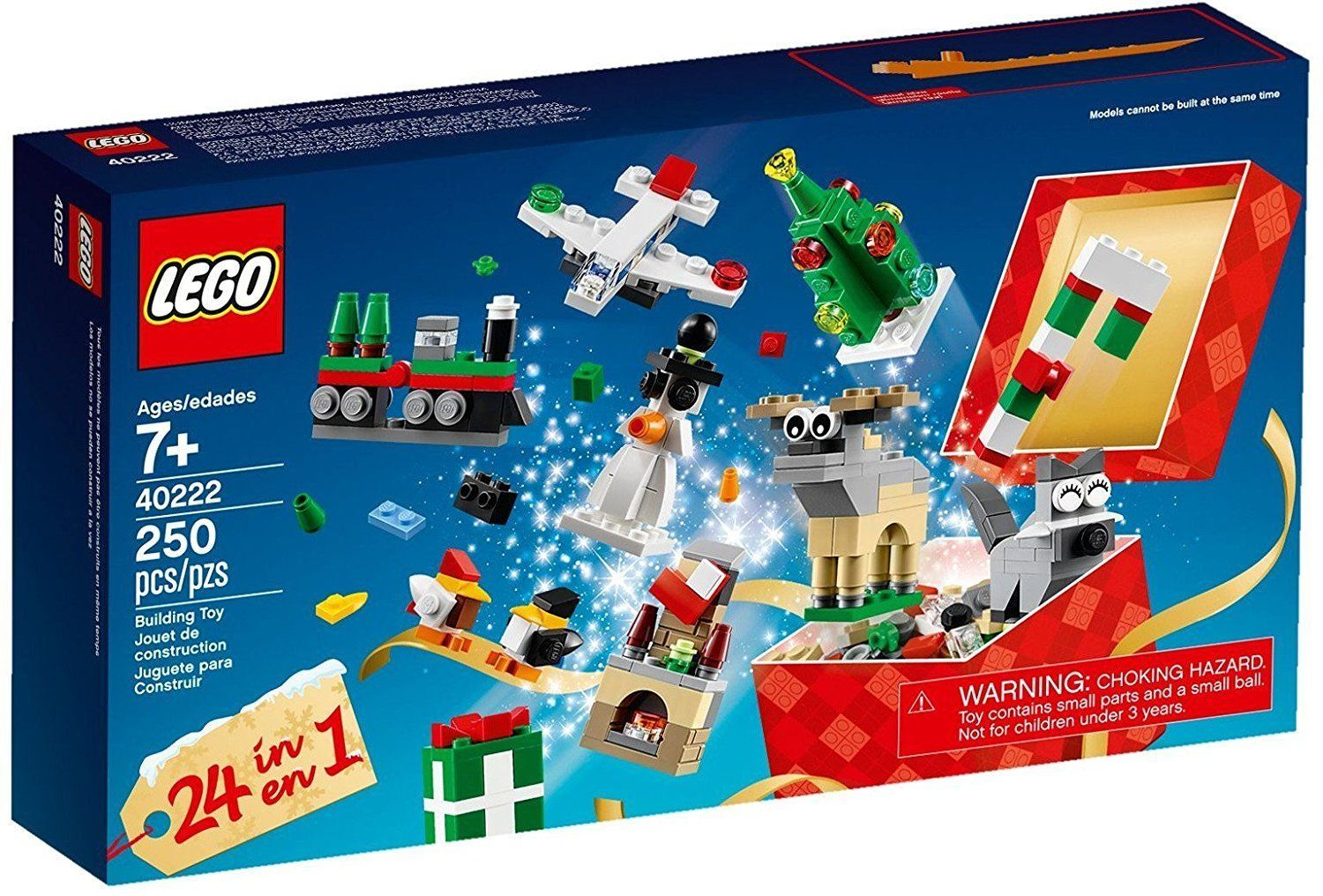 LEGO Christmas Building Set Countdown 24 in 1  40222, 250 pieces [New]