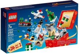 LEGO Christmas Building Set Countdown 24 in 1  40222, 250 pieces [New] - $29.99