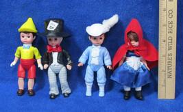 4 McDonalds Madame Alexander Dolls Mad Hatter Prince Charming Pinocchio ... - $10.34