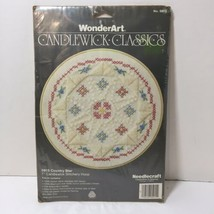 """Country Star Candlewicking Kit WonderArt7"""" Round - $8.79"""