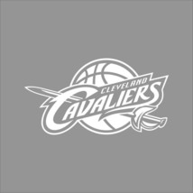 Cleveland Cavaliers NBA Team Logo 1Color Vinyl Decal Sticker Car Window Wall - $5.64+