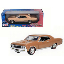 1967 Chevrolet Chevelle SS 396 Golden Brown Timeless Classics 1/18 Dieca... - $47.48