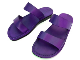 Leather Sandals for Women PARIS by SANDALIM Biblical Greek Roman Sandals - $39.44 CAD+