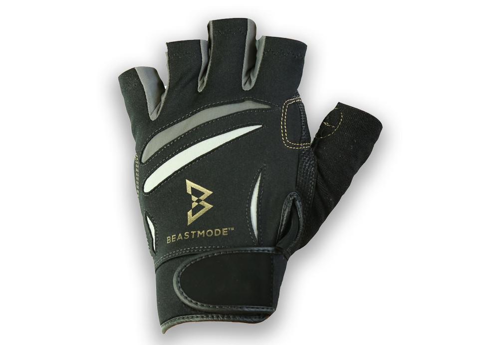 Bionic Beast Mode Fitness Fingerless Mens Gloves, All Sizes Available
