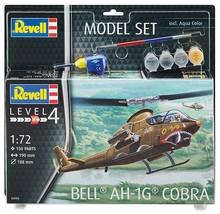 Revell 1/72 Bell AH-1G Cobra Model Kit + Paint & Glue - $30.00