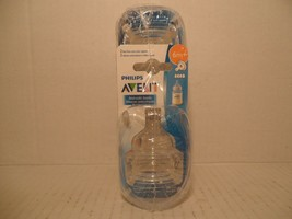 Philips AVENT Fast Flow Anti-Colic Nipples, Clear, 6M+ size 4 nipples (4... - $22.66