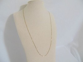 "Giani Bernini 18k Gold/Sterling Silver Necklace 20""Venetian Box Chain R5... - $23.03"