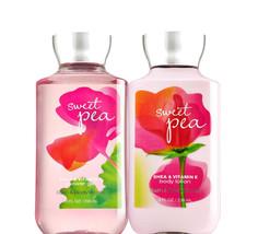 Bath & Body Works Sweet Pea Body Lotion + Shower Gel Duo Set - $25.43
