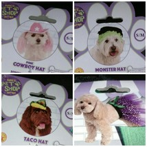 Rubies Pet Shop Boutique Costume Taco Monster Pink Cowboy Hat Dog Tutu H... - €6,40 EUR