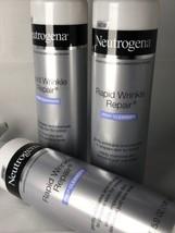 3x Neutrogena Rapid Wrinkle Repair Anti-Wrinkle Retinol Prep Cleanser NEW - $19.00