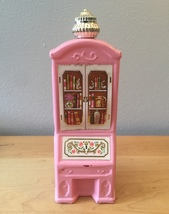 70s Avon Pink Armoire foaming bath oil bottle (Charisma)