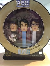 NEW Elvis Presley Collection Box Tin Set PEZ Limited Edition+ CD 400000 - $19.49