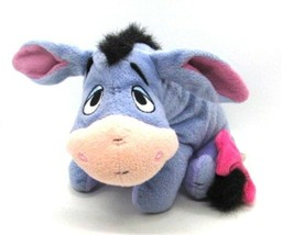Fisher Price 2001 EEYORE from Winnie the Pooh Disney Embroidered Eyes Pl... - $14.84
