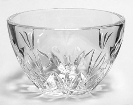 WATERFORD Thank You Vanity Dish CRYSTAL FLORAL CLEAR MADE IN CZECH REPUB... - $42.50