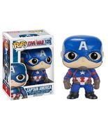 Funko Pop! Marvel Captain America Civil War  Bobble Vinyl Figure New Col... - $14.25
