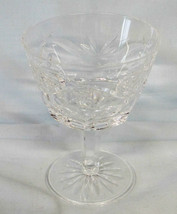 "Waterford Ashling Cut 4 1/8"" Liquor Wine Stem Goblet - $24.64"