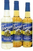Torani Coffee Sugar Free Syrup Variety Pack, 25.4 Ounce Pack of 3 one ea... - $43.01