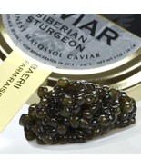 French Siberian Sturgeon Caviar (A. baerii) - Malossol, Farm Raised - 16... - $1,167.47