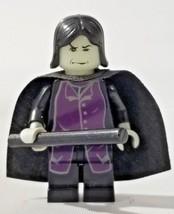 Lego Harry Potter Professor Snape Glow in the Dark head 4751 Prisoner of Azkaban - $15.99