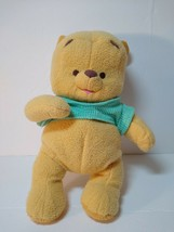 """Fisher Price Disney 12"""" Baby's First Winnie The Pooh Plush Rattle 2001 - $19.79"""
