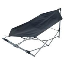 Folding Portable Camping / Yard Hammock Bed w/ Aluminum Frame & Carrying... - $90.79