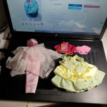 Misc LOT of Barbie Clothing From 1980s + Gown Dress Tops See Pics OA1C01 - $10.93