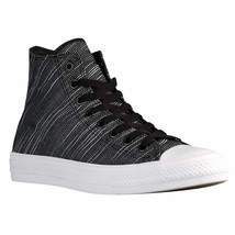 Converse Men's Chuck Taylor II Hi All Star Sizes 8-9, 151087C Black/Whit... - $69.95