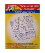 Mischievous Kitten Aunt Marthas 9180 Vintage Hot Iron Transfer Needlewor... - $6.99
