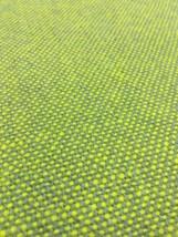 Designtex Tweed Gray & Yellow Woven Wool Upholstery Fabric 2 yards PW - $39.52