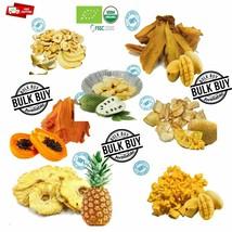 Tira de frutos secos 100% orgánico Mango Piña Plátano Papaya Aguacate ja... - $5.68+