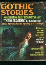 GOTHIC STORIES #5 1971-DELL PULP-DOROTHY EDEN-ROCHARD POSNER-good G - $55.87