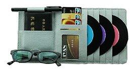 Auto Accessories 10-Pocket CD Visor Organizer DVD/CD Storage Gray