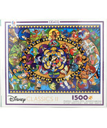 New Disney Classics II Jigsaw Puzzle Collage Ceaco 1500 Pieces Factory S... - $41.82