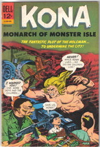 Kona Monarch of Monster Isle Comic Book #19 Dell Comics 1966 FINE+ - $19.27